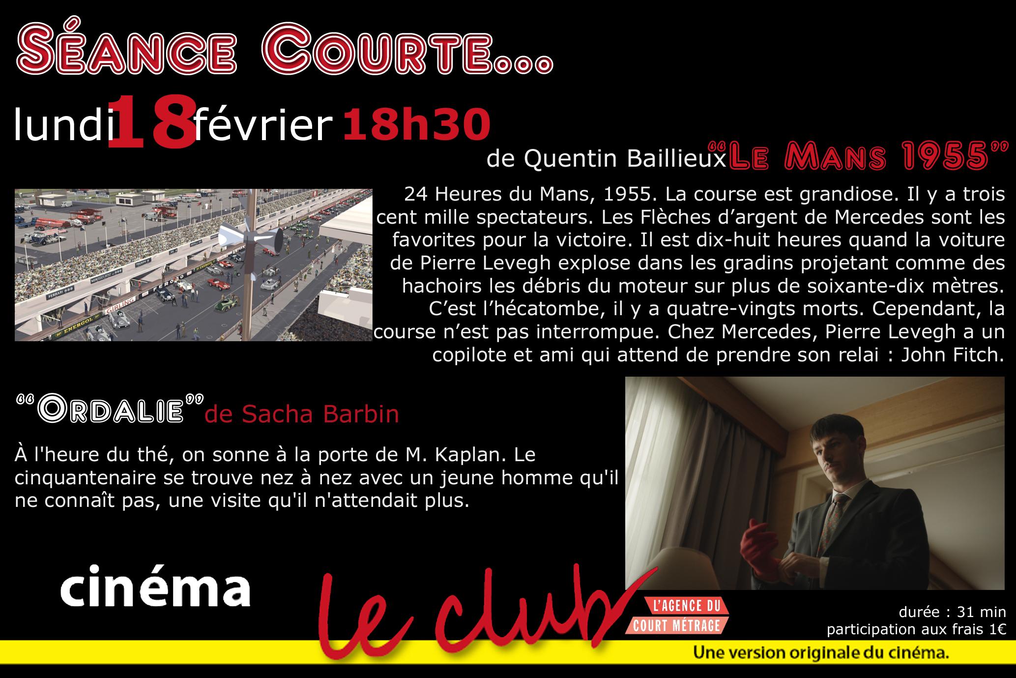 low priced 5d919 b899a LE CLUB   Art et Essai   Cinéma