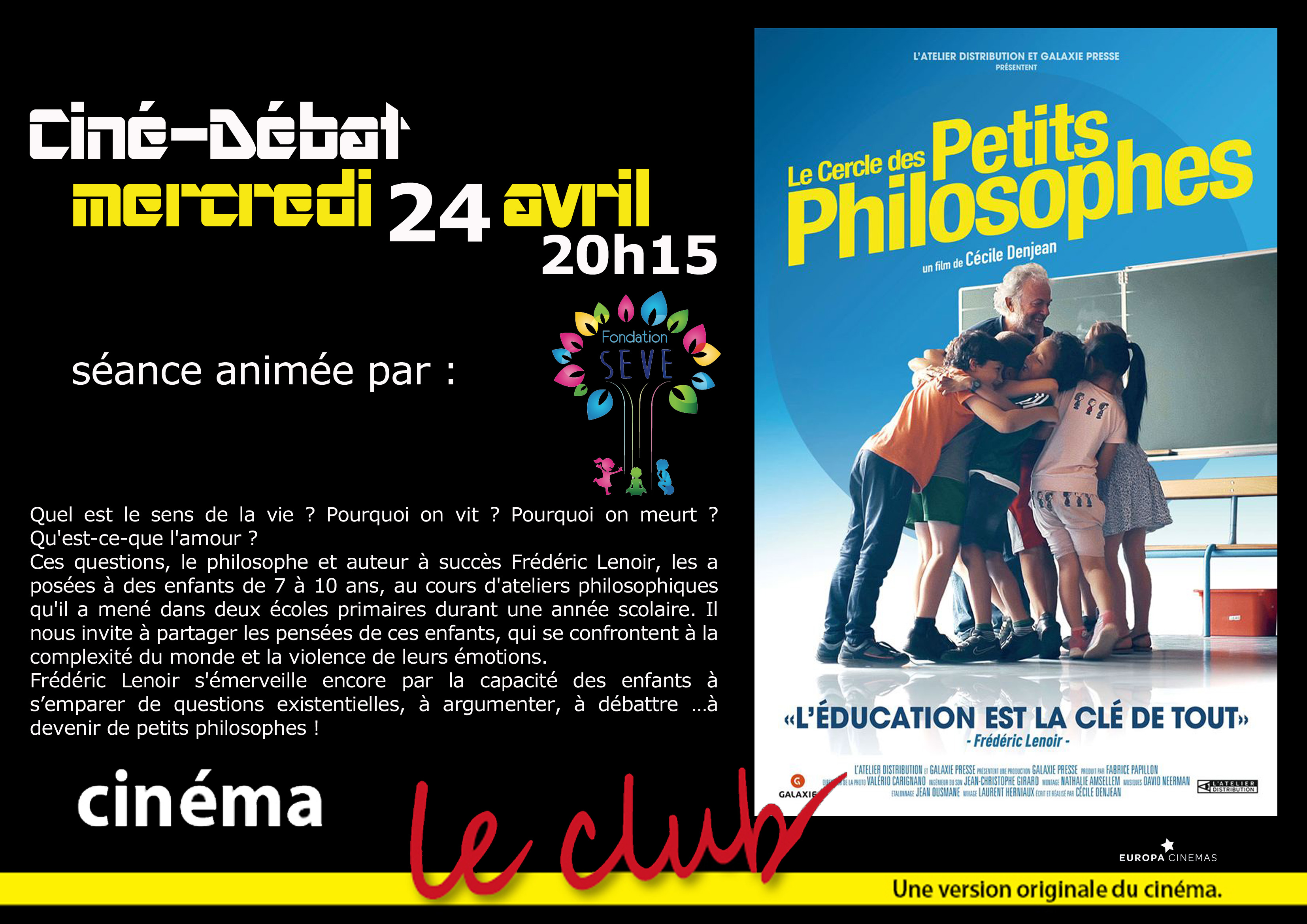 f19b27edd7e11 Art et Essai   Cinéma - LE CLUB