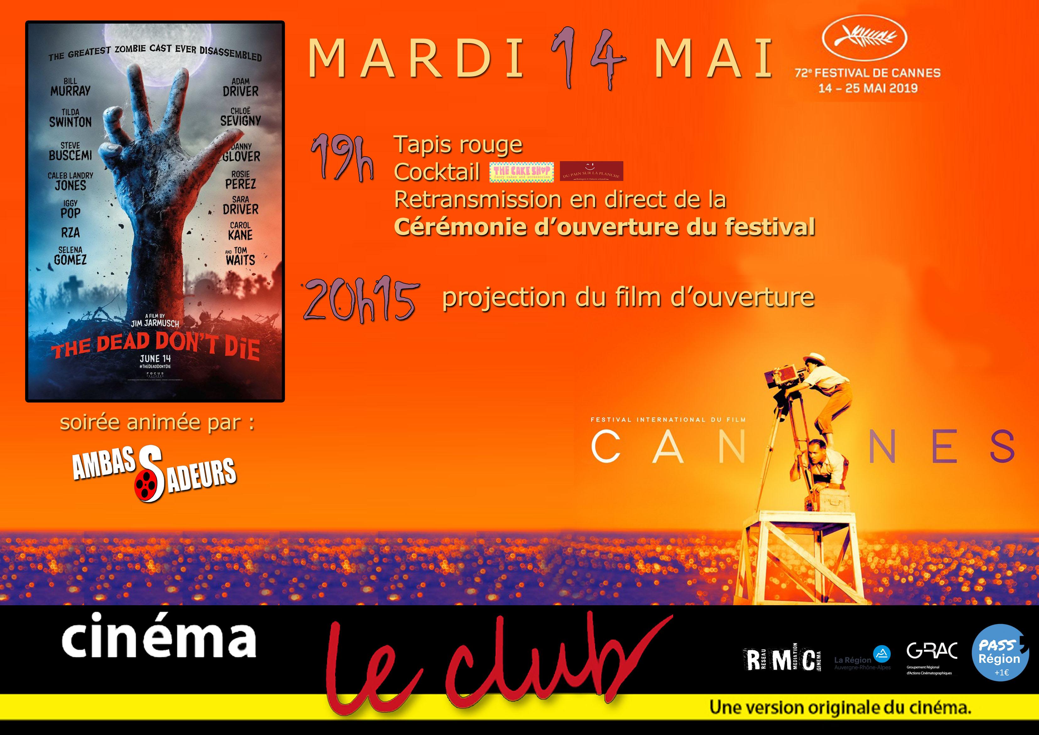 Art Essaigt; Le Club Et Cinéma oCedxBr