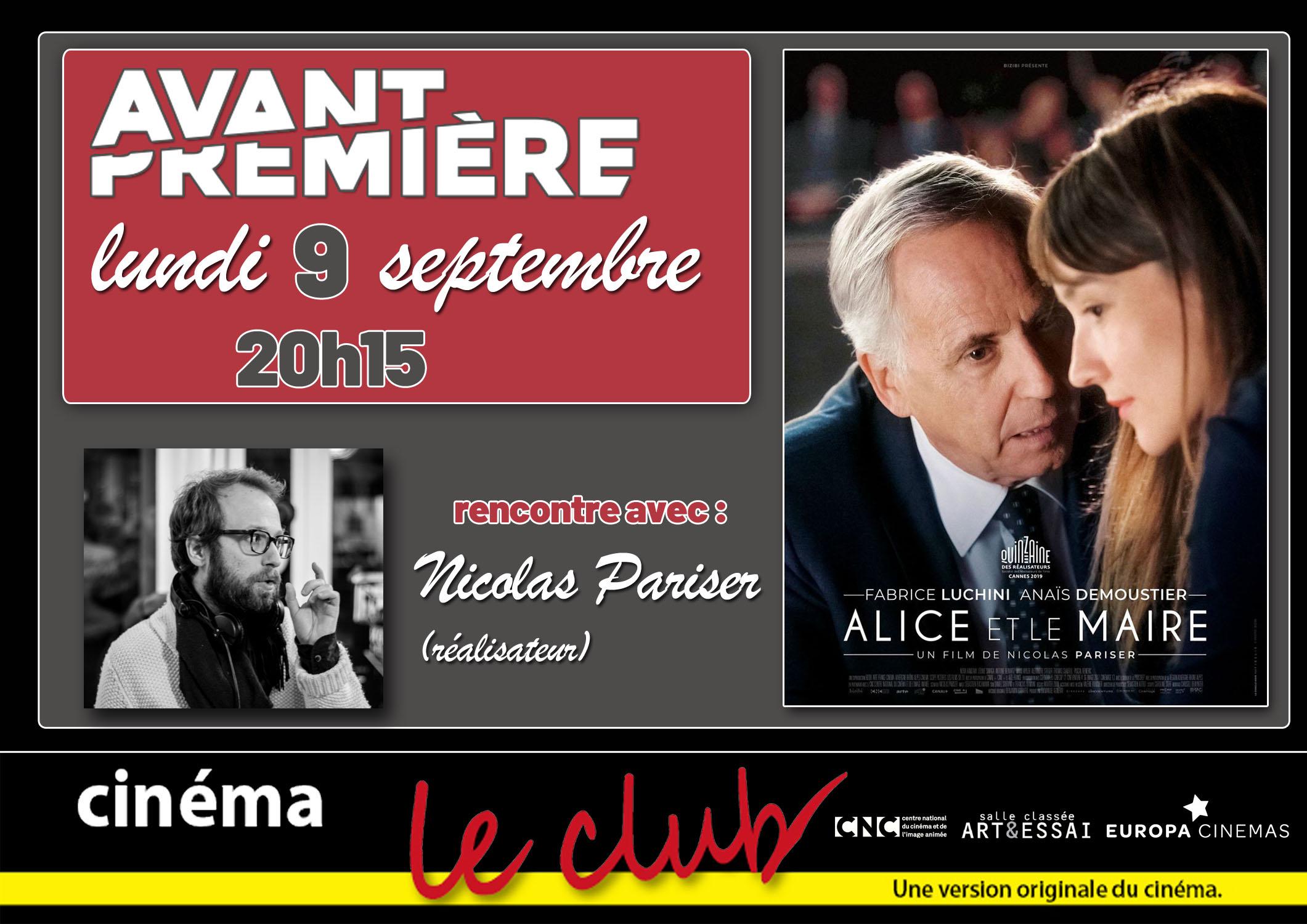 Art et Essai > Cinéma - LE CLUB